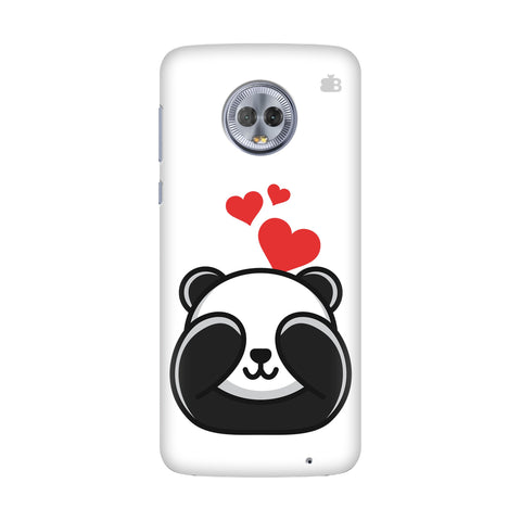 Panda In Love Motorola G6 Plus Cover