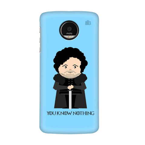 You Know Nothing Motorola Moto G7 Plus Cover