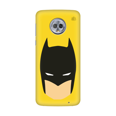 Angry Masked Superhero Motorola Moto G7 Power Cover