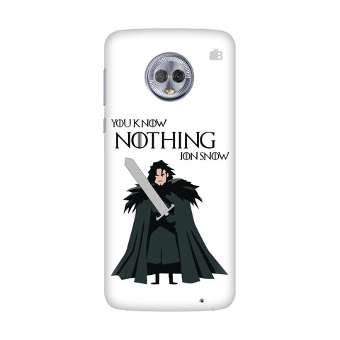 Badass Jon Snow Motorola Moto G7 Power Cover