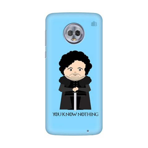 You Know Nothing Motorola Moto G7 Power Cover
