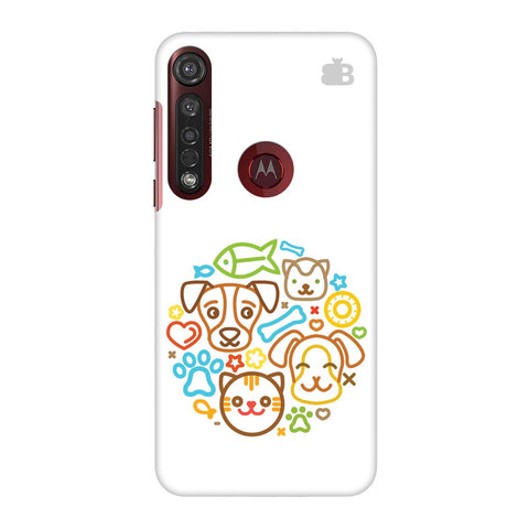 Cute Pets Moto G8 Plus Cover