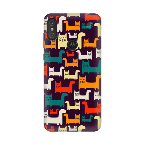 Chill Cats Motorola Moto One Power Cover