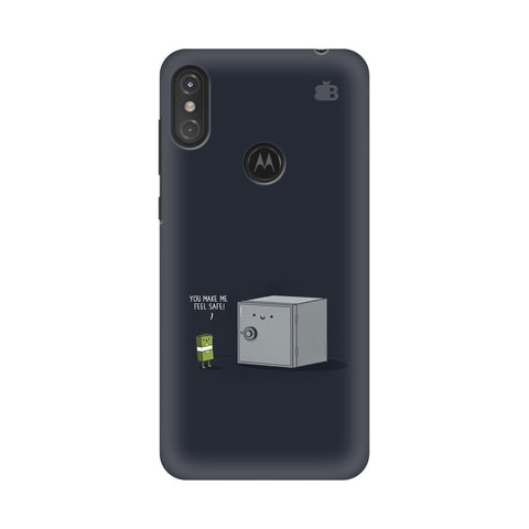Feel Safe Motorola Moto One Power Cover