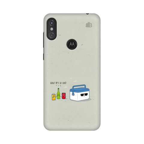 He is Cool Motorola Moto One Power Cover