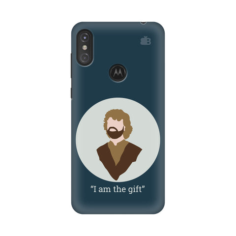 I am the gift Motorola Moto One Power Cover