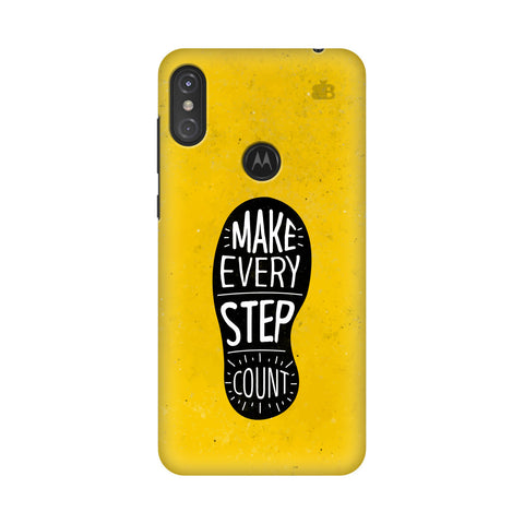 Step Count Motorola Moto One Power Cover
