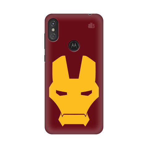 Superhero Mask Motorola Moto One Power Cover