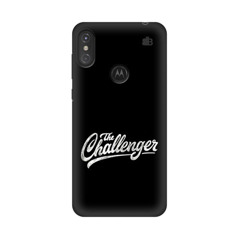 The Challenger Motorola Moto One Power Cover