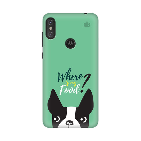 Where is my Food Motorola Moto One Power Cover