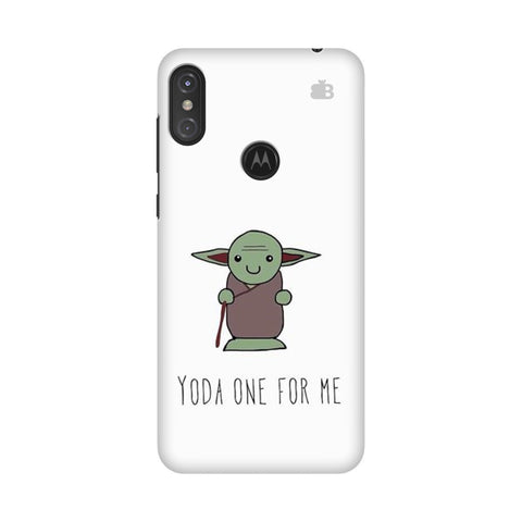 Yoda One Motorola Moto One Power Cover