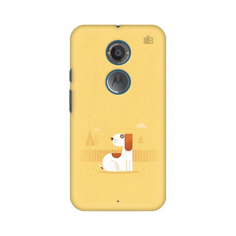 Calm Dog Motorola Moto X2 Phone Cover