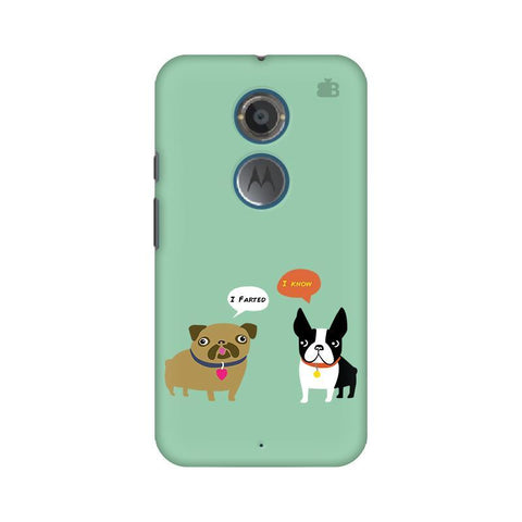 Cute Dog Buddies Motorola Moto X2 Phone Cover
