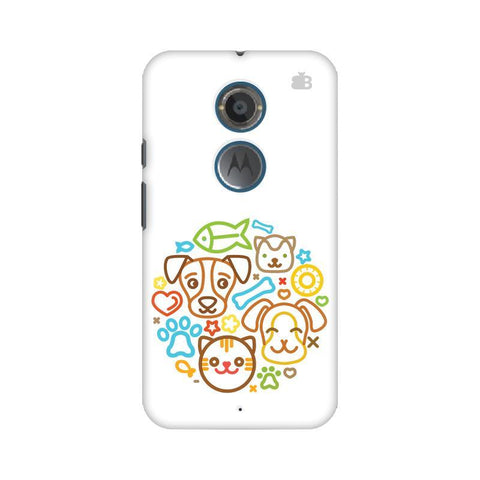 Cute Pets Motorola Moto X2 Phone Cover