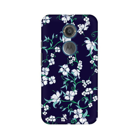 Dogwood Floral Pattern Motorola Moto X2 Phone Cover