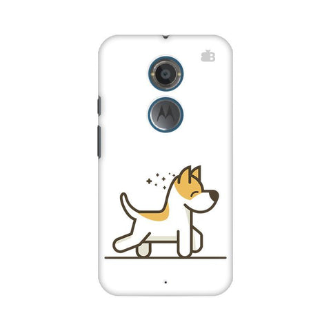 Happy Puppy Motorola Moto X2 Phone Cover