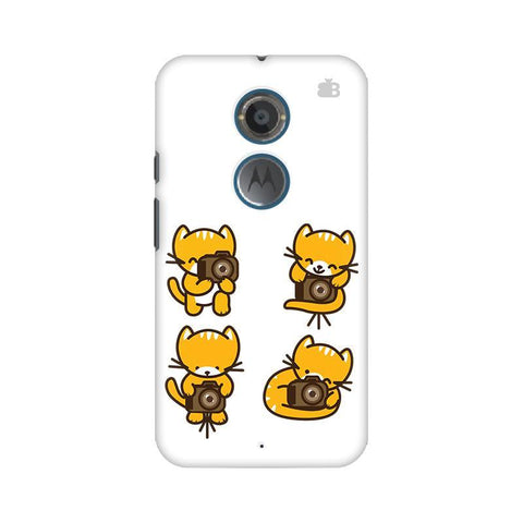 Photographer Kitty Motorola Moto X2 Phone Cover