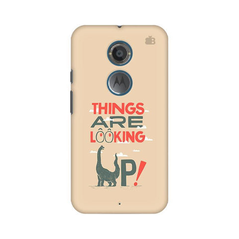 Things are looking Up Motorola Moto X2 Phone Cover