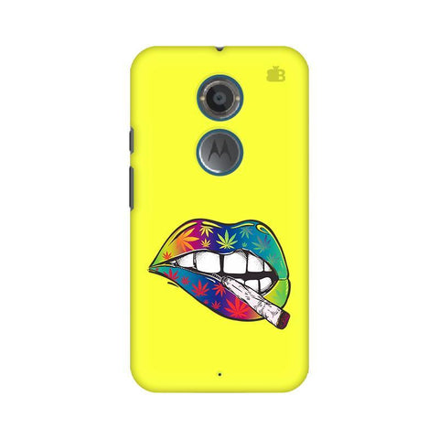 Trippy Lips Motorola Moto X2 Phone Cover
