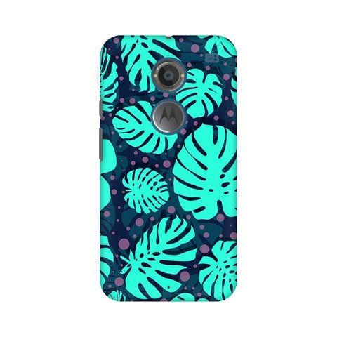 Tropical Leaves Pattern Motorola Moto X2 Phone Cover