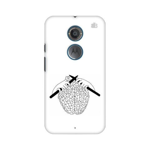 Weaving Brain Motorola Moto X2 Phone Cover