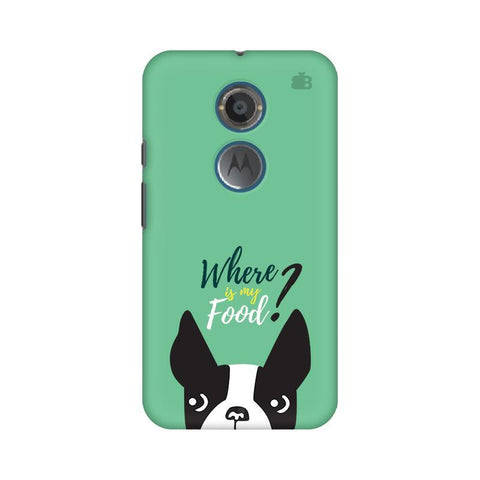 Where is my Food Motorola Moto X2 Phone Cover