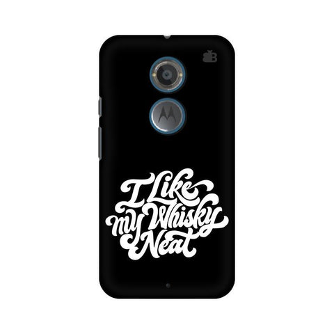 Whiskey Neat Motorola Moto X2 Phone Cover