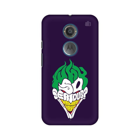 Why So Serious Motorola Moto X2 Phone Cover