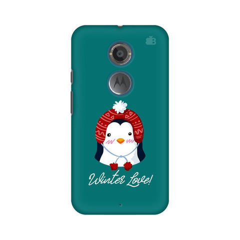 Winter Love Motorola Moto X2 Phone Cover