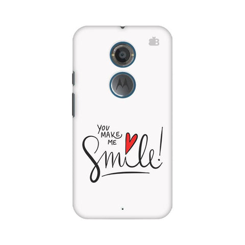 You make me Smile Motorola Moto X2 Phone Cover