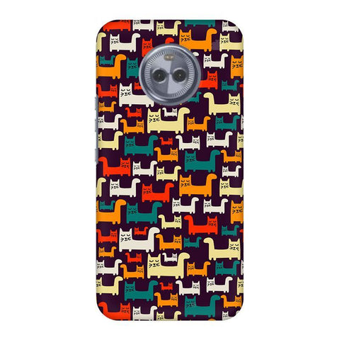 Chill Cats Motorola Moto X4 Phone Cover