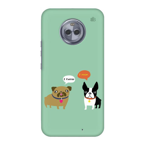 Cute Dog Buddies Motorola Moto X4 Phone Cover