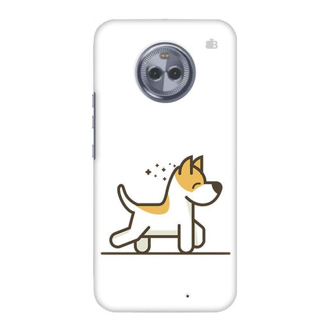 Happy Puppy Motorola Moto X4 Phone Cover