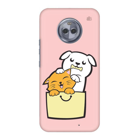 Kitty Puppy Buddies Motorola Moto X4 Phone Cover