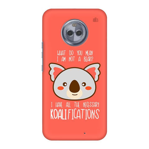 Koalifications Motorola Moto X4 Phone Cover