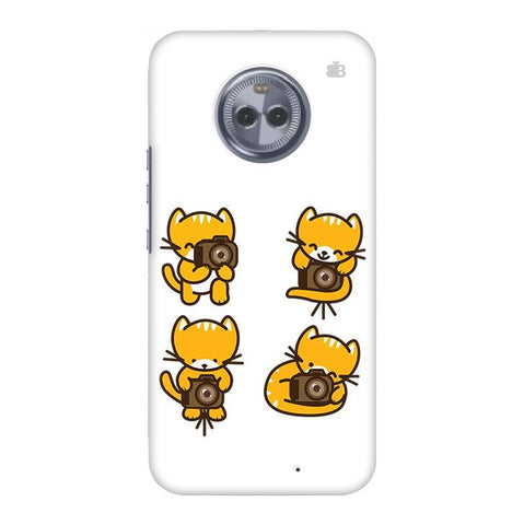 Photographer Kitty Motorola Moto X4 Phone Cover