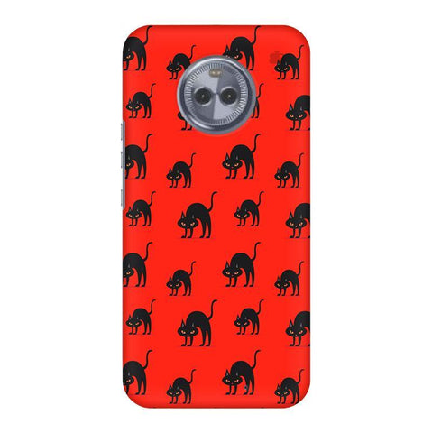 Scary Cats Motorola Moto X4 Phone Cover