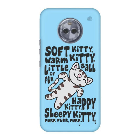 Soft Kitty Motorola Moto X4 Phone Cover