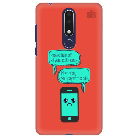 Payin This Bill Nokia 3.1 Plus Cover