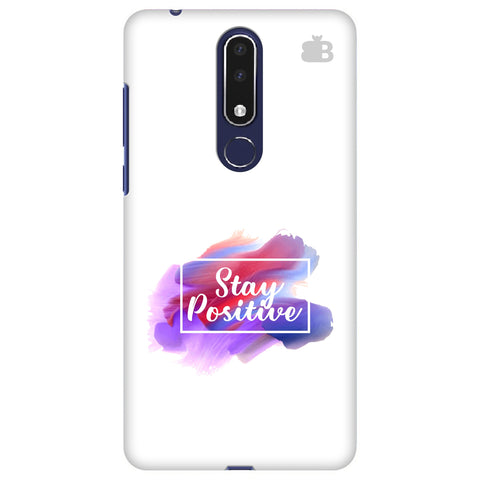 Stay Positive Nokia 3.1 Plus Cover