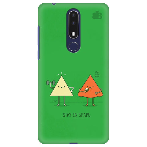 Stay in Shape Nokia 3.1 Plus Cover
