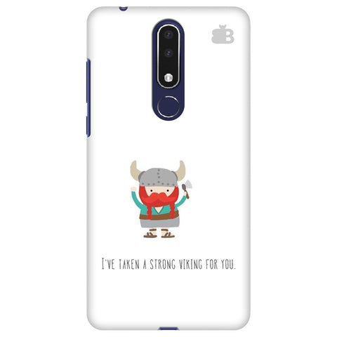 Strong Viking Nokia 3.1 Plus Cover