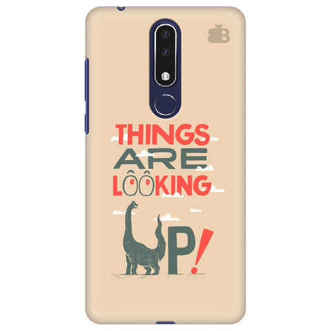 Things are looking Up Nokia 3.1 Plus Cover