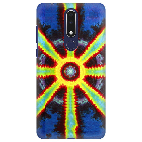 Tie Die Pattern Nokia 3.1 Plus Cover