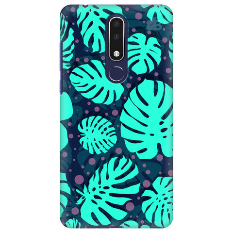 Tropical Leaves Pattern Nokia 3.1 Plus Cover