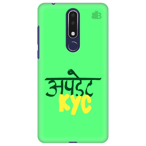 Update KYC Nokia 3.1 Plus Cover