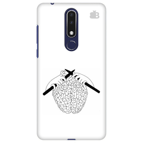 Weaving Brain Nokia 3.1 Plus Cover