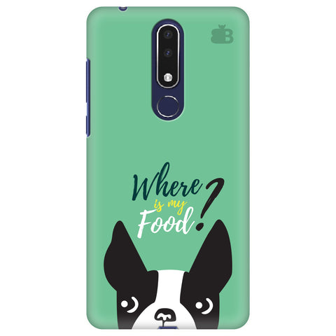Where is my Food Nokia 3.1 Plus Cover