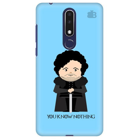 You Know Nothing Nokia 3.1 Plus Cover