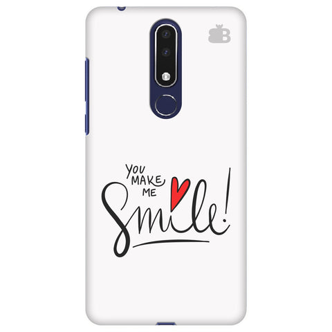 You make me Smile Nokia 3.1 Plus Cover